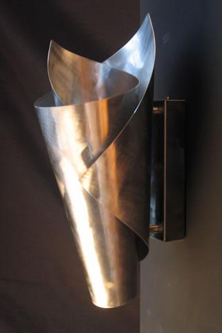 Wandlampe edelstahl und moderne wandleuchten online - Wandleuchte mit kabel fur steckdose ...