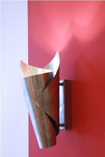 wandlampe edelstahl und moderne wandleuchten online. Black Bedroom Furniture Sets. Home Design Ideas