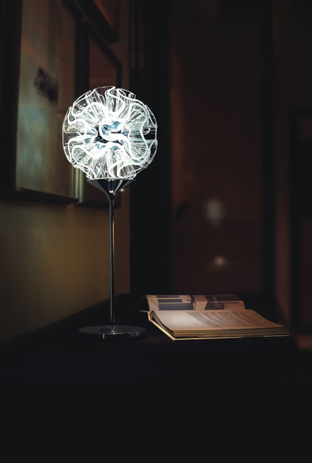Leseleuchte mit energiesparsamen LED-Lampen